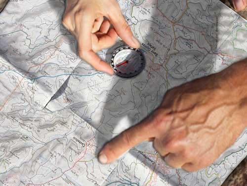 Mapa del Moianès - rutes i excursions