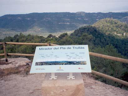 Mirador del Pla de Trullàs